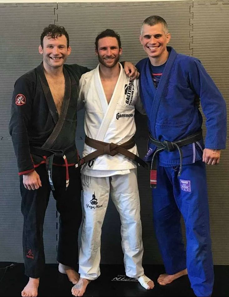 Coach Greg Lew BJJ Brown Belt near Towson Baltimore